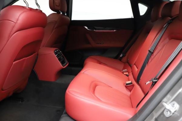 New 2021 Maserati Quattroporte S Q4 GranLusso for sale $122,435 at Maserati of Greenwich in Greenwich CT 06830 20