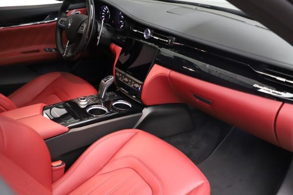 New 2021 Maserati Quattroporte S Q4 GranLusso for sale $122,435 at Maserati of Greenwich in Greenwich CT 06830 22