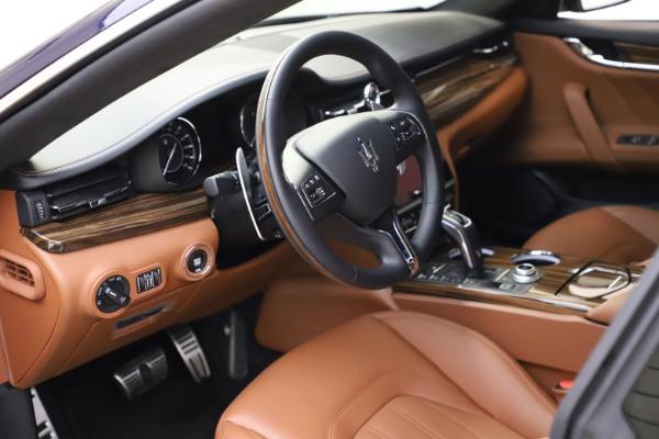 New 2021 Maserati Quattroporte S Q4 GranLusso for sale $123,549 at Maserati of Greenwich in Greenwich CT 06830 12
