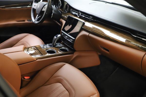 New 2021 Maserati Quattroporte S Q4 GranLusso for sale $123,549 at Maserati of Greenwich in Greenwich CT 06830 20
