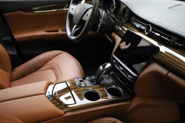 New 2021 Maserati Quattroporte S Q4 GranLusso for sale $123,549 at Maserati of Greenwich in Greenwich CT 06830 21