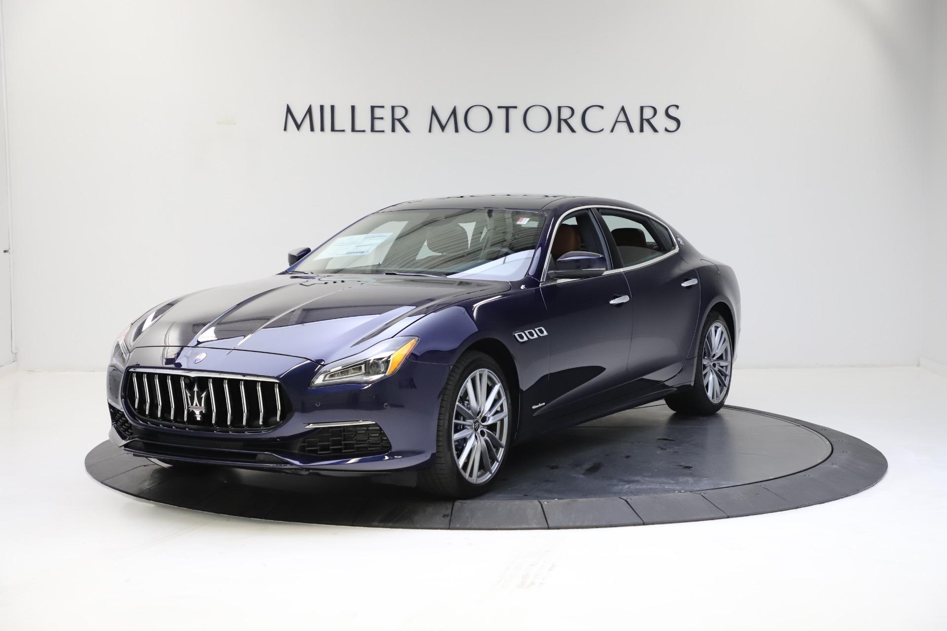 New 2021 Maserati Quattroporte S Q4 GranLusso for sale $123,549 at Maserati of Greenwich in Greenwich CT 06830 1