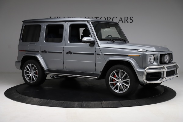 Used 2021 Mercedes-Benz G-Class AMG G 63 for sale $219,900 at Maserati of Greenwich in Greenwich CT 06830 10