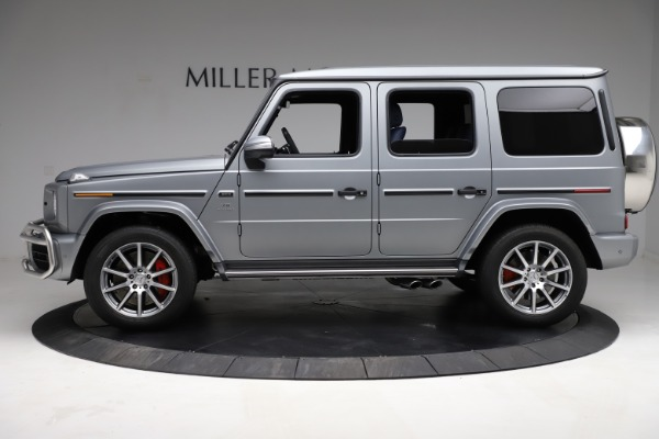 Used 2021 Mercedes-Benz G-Class AMG G 63 for sale $219,900 at Maserati of Greenwich in Greenwich CT 06830 3