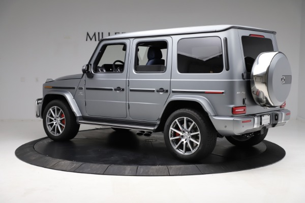 Used 2021 Mercedes-Benz G-Class AMG G 63 for sale $219,900 at Maserati of Greenwich in Greenwich CT 06830 4