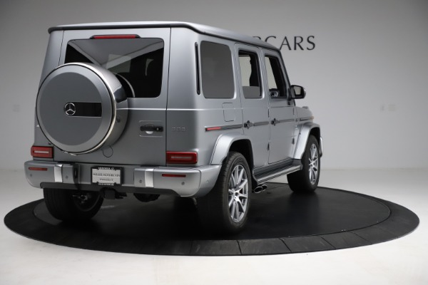 Used 2021 Mercedes-Benz G-Class AMG G 63 for sale $219,900 at Maserati of Greenwich in Greenwich CT 06830 7