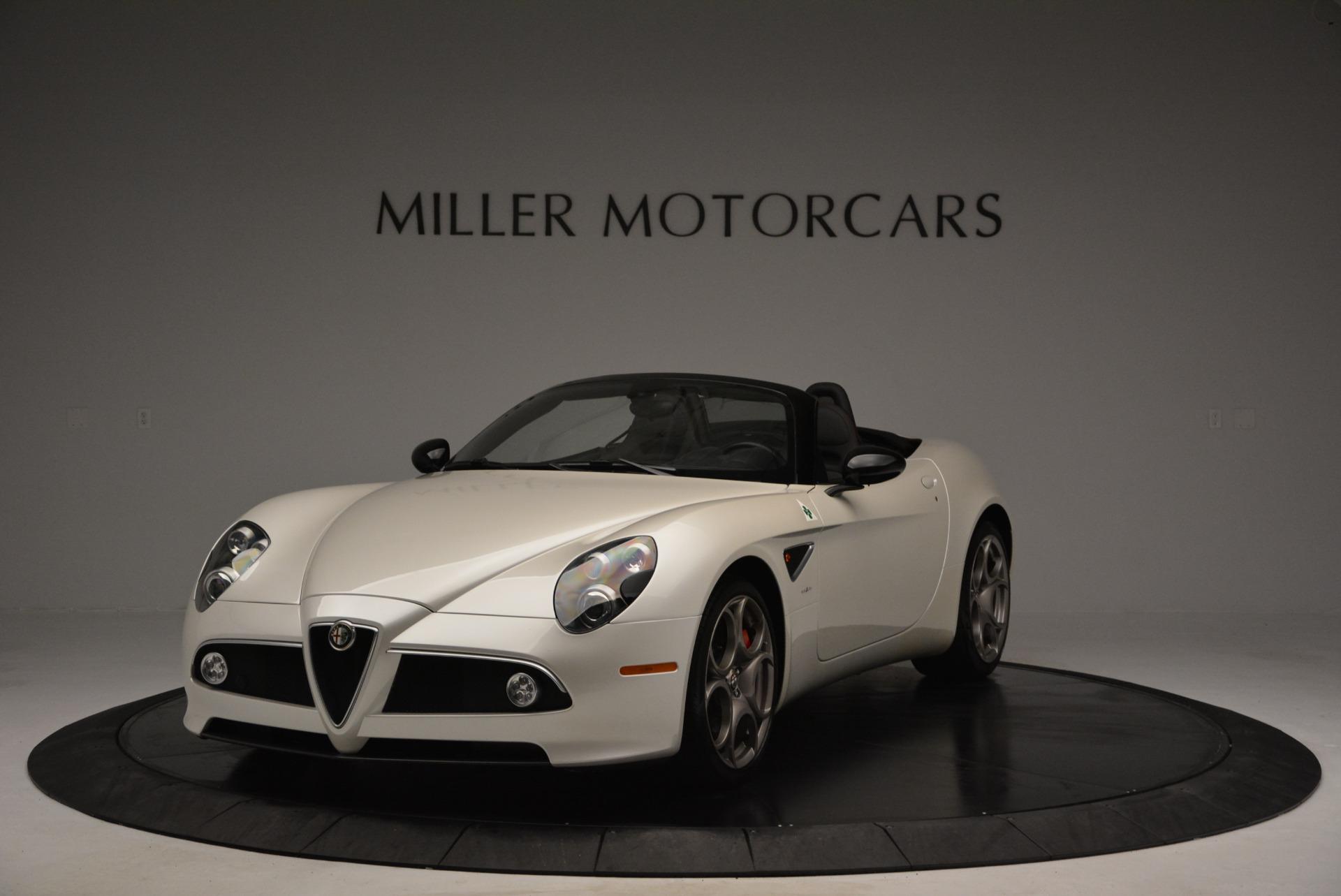 Used 2009 Alfa Romeo 8C Competizione Spider for sale $345,900 at Maserati of Greenwich in Greenwich CT 06830 1