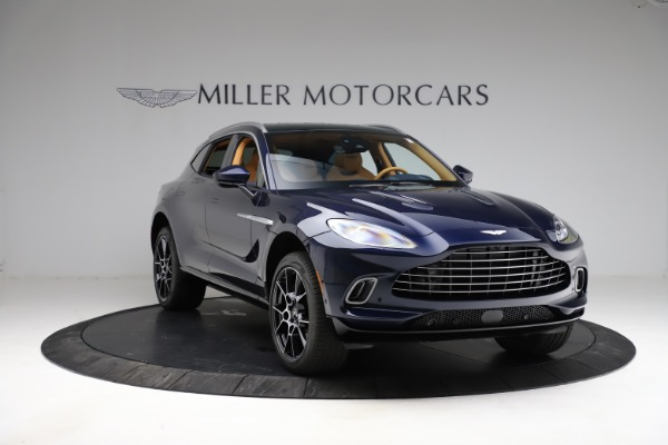 New 2021 Aston Martin DBX for sale $205,386 at Maserati of Greenwich in Greenwich CT 06830 10