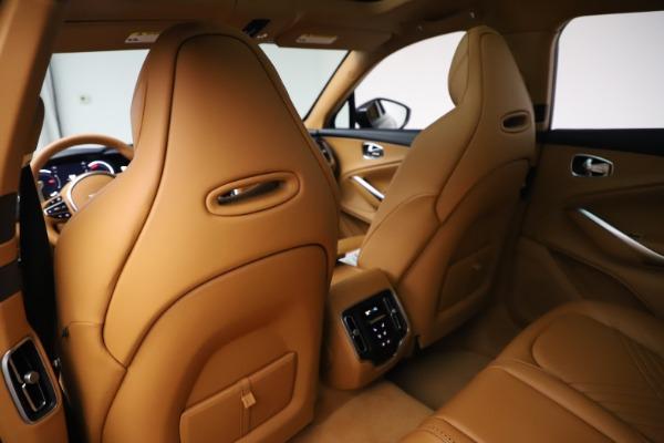 New 2021 Aston Martin DBX for sale $205,386 at Maserati of Greenwich in Greenwich CT 06830 17