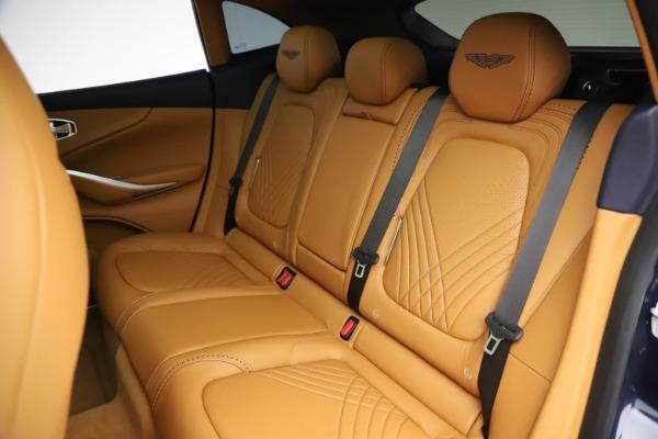 New 2021 Aston Martin DBX for sale $205,386 at Maserati of Greenwich in Greenwich CT 06830 19