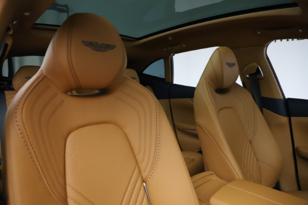 New 2021 Aston Martin DBX for sale $205,386 at Maserati of Greenwich in Greenwich CT 06830 21