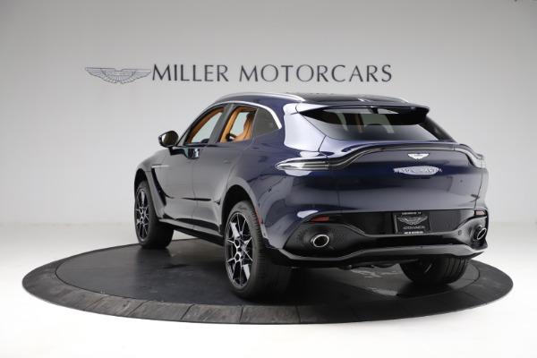 New 2021 Aston Martin DBX for sale $205,386 at Maserati of Greenwich in Greenwich CT 06830 4