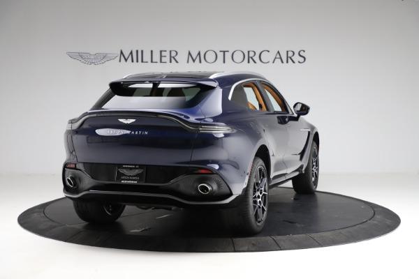 New 2021 Aston Martin DBX for sale $205,386 at Maserati of Greenwich in Greenwich CT 06830 6