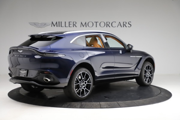 New 2021 Aston Martin DBX for sale $205,386 at Maserati of Greenwich in Greenwich CT 06830 7