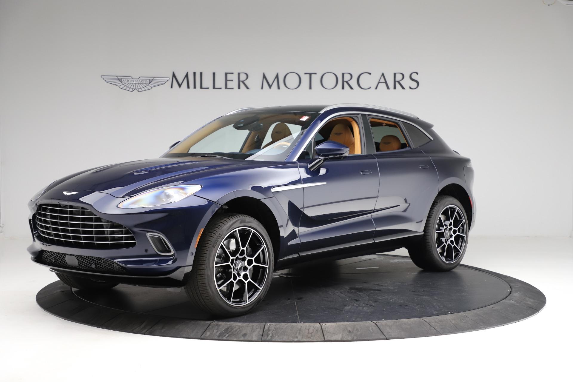 New 2021 Aston Martin DBX for sale $205,386 at Maserati of Greenwich in Greenwich CT 06830 1