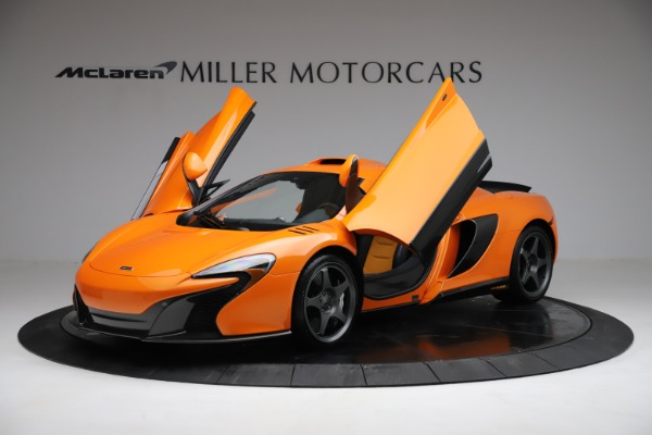 Used 2015 McLaren 650S LeMans for sale $269,990 at Maserati of Greenwich in Greenwich CT 06830 13