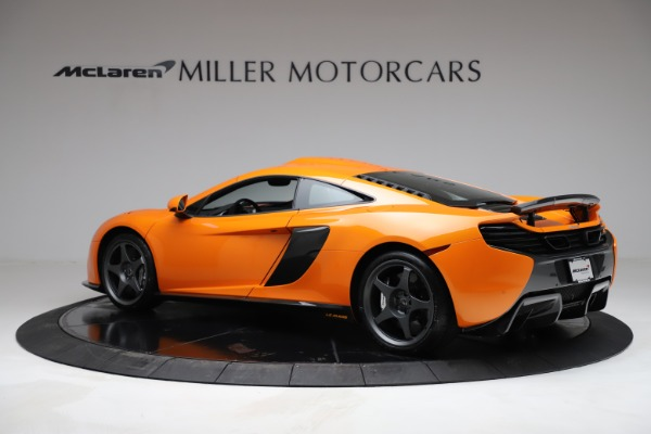 Used 2015 McLaren 650S LeMans for sale $269,990 at Maserati of Greenwich in Greenwich CT 06830 3