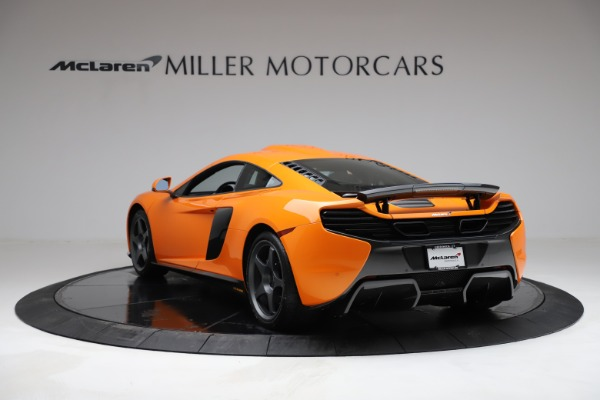 Used 2015 McLaren 650S LeMans for sale $299,900 at Maserati of Greenwich in Greenwich CT 06830 4