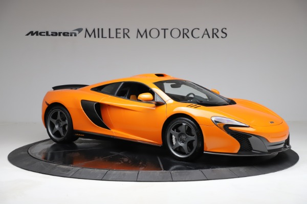 Used 2015 McLaren 650S LeMans for sale $299,900 at Maserati of Greenwich in Greenwich CT 06830 9