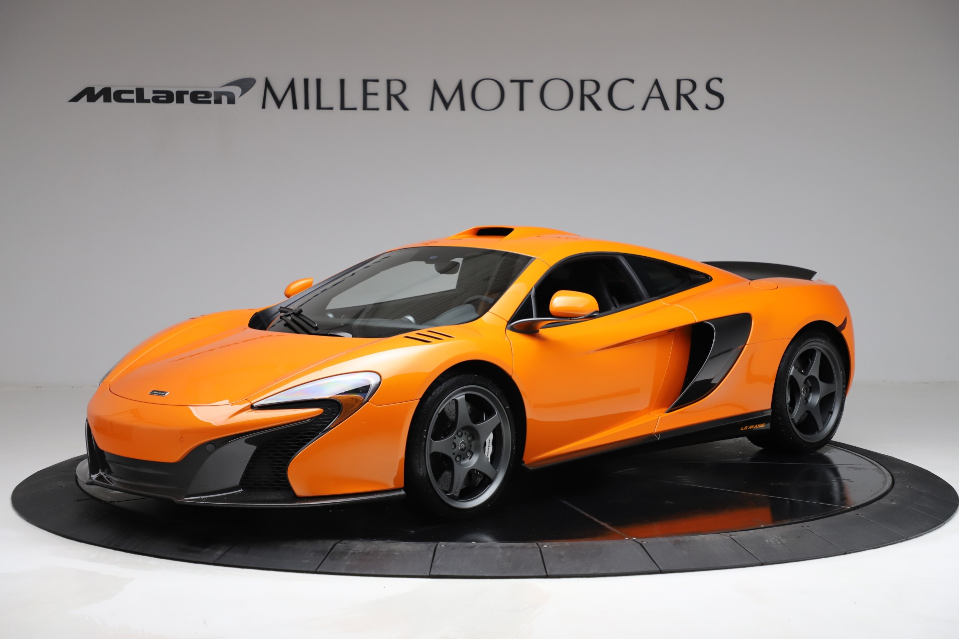 Used 2015 McLaren 650S LeMans for sale $299,900 at Maserati of Greenwich in Greenwich CT 06830 1