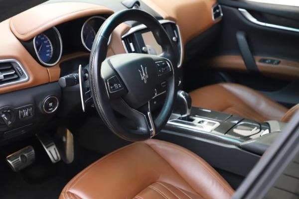 Used 2014 Maserati Ghibli S Q4 for sale $29,900 at Maserati of Greenwich in Greenwich CT 06830 14