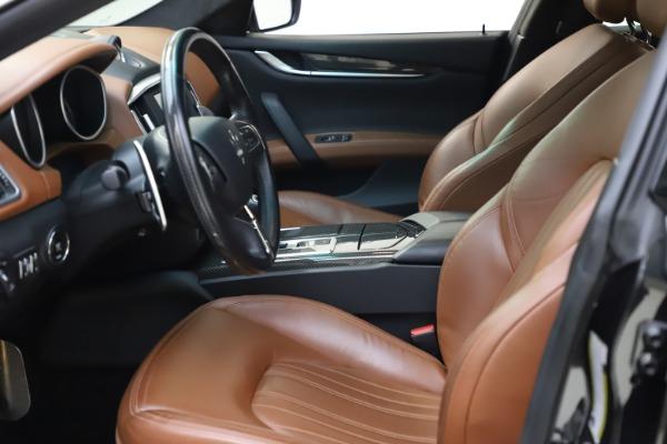 Used 2014 Maserati Ghibli S Q4 for sale $29,900 at Maserati of Greenwich in Greenwich CT 06830 15