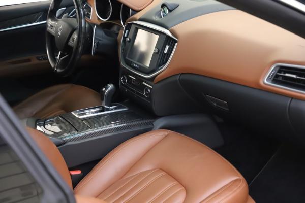 Used 2014 Maserati Ghibli S Q4 for sale $29,900 at Maserati of Greenwich in Greenwich CT 06830 19