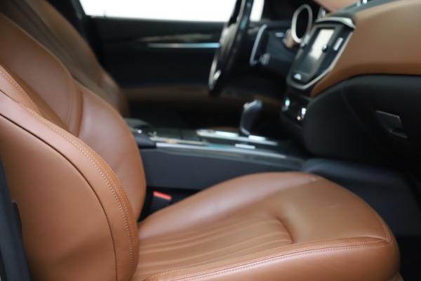 Used 2014 Maserati Ghibli S Q4 for sale $29,900 at Maserati of Greenwich in Greenwich CT 06830 20