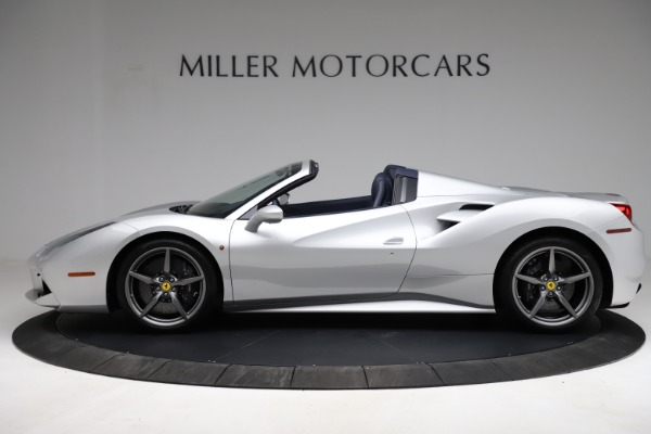Used 2017 Ferrari 488 Spider for sale $284,900 at Maserati of Greenwich in Greenwich CT 06830 3