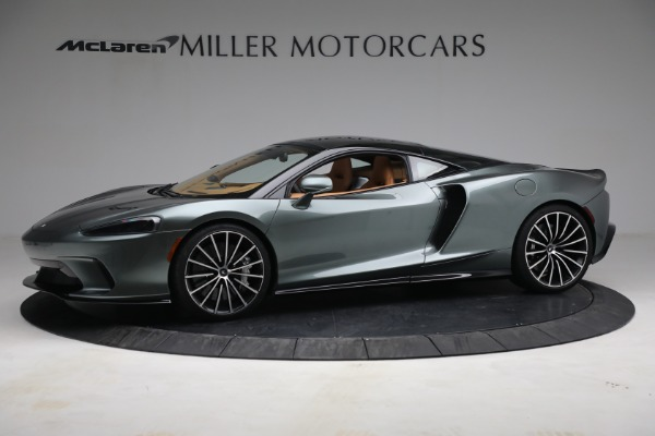 New 2021 McLaren GT LUXE for sale $214,005 at Maserati of Greenwich in Greenwich CT 06830 2