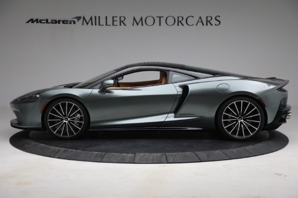 New 2021 McLaren GT LUXE for sale $214,005 at Maserati of Greenwich in Greenwich CT 06830 3