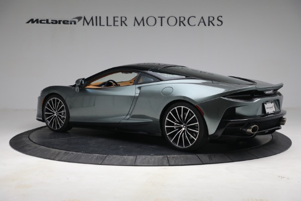 New 2021 McLaren GT LUXE for sale $214,005 at Maserati of Greenwich in Greenwich CT 06830 4
