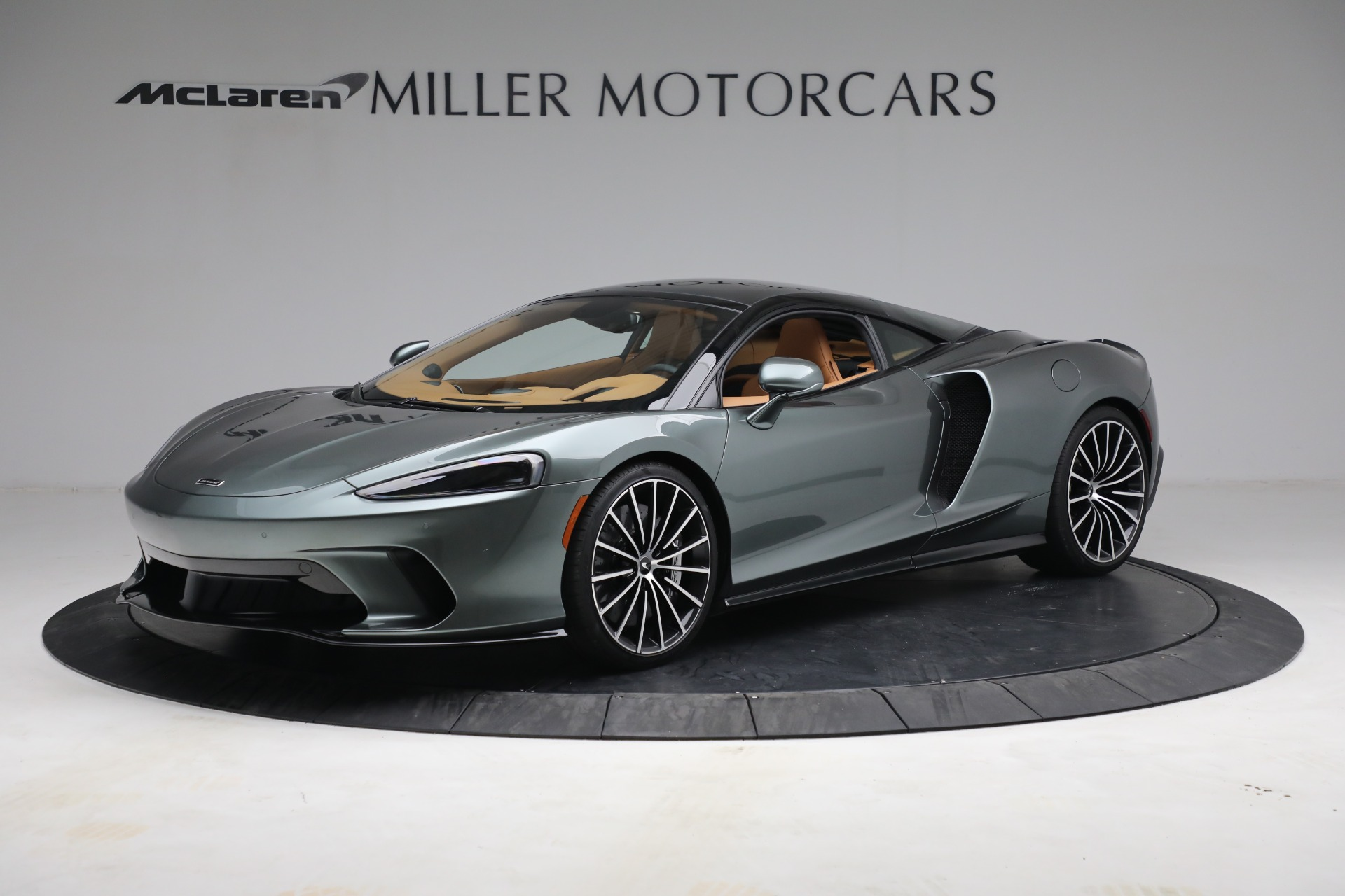 New 2021 McLaren GT LUXE for sale $214,005 at Maserati of Greenwich in Greenwich CT 06830 1