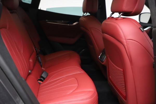 New 2021 Maserati Levante S Q4 GranLusso for sale $105,549 at Maserati of Greenwich in Greenwich CT 06830 22