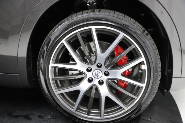 New 2021 Maserati Levante S Q4 GranLusso for sale $105,549 at Maserati of Greenwich in Greenwich CT 06830 26