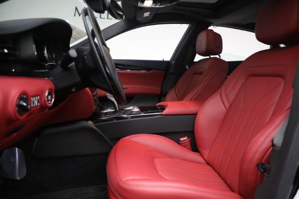 New 2021 Maserati Quattroporte S Q4 for sale $119,589 at Maserati of Greenwich in Greenwich CT 06830 19