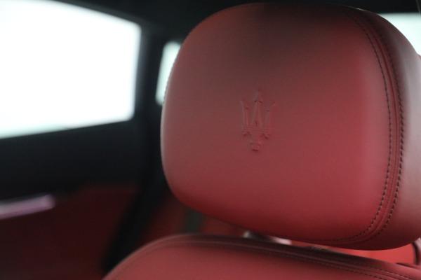 New 2021 Maserati Quattroporte S Q4 for sale $119,589 at Maserati of Greenwich in Greenwich CT 06830 21