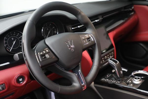 New 2021 Maserati Quattroporte S Q4 for sale $119,589 at Maserati of Greenwich in Greenwich CT 06830 23