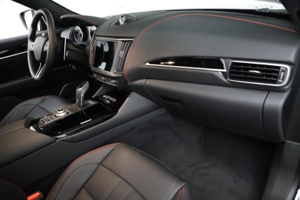 New 2021 Maserati Levante Q4 GranSport for sale $92,735 at Maserati of Greenwich in Greenwich CT 06830 21