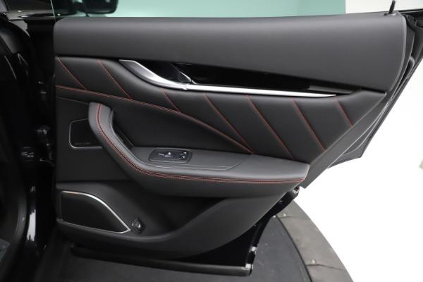 New 2021 Maserati Levante Q4 GranSport for sale $92,735 at Maserati of Greenwich in Greenwich CT 06830 25
