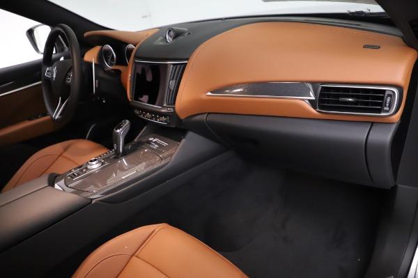 New 2021 Maserati Levante Q4 GranSport for sale $91,385 at Maserati of Greenwich in Greenwich CT 06830 22