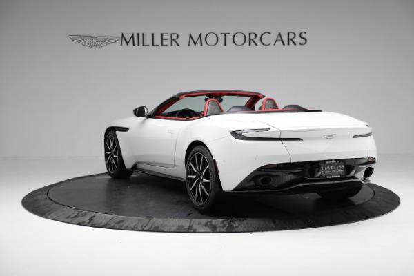 Used 2019 Aston Martin DB11 Volante for sale $209,990 at Maserati of Greenwich in Greenwich CT 06830 4