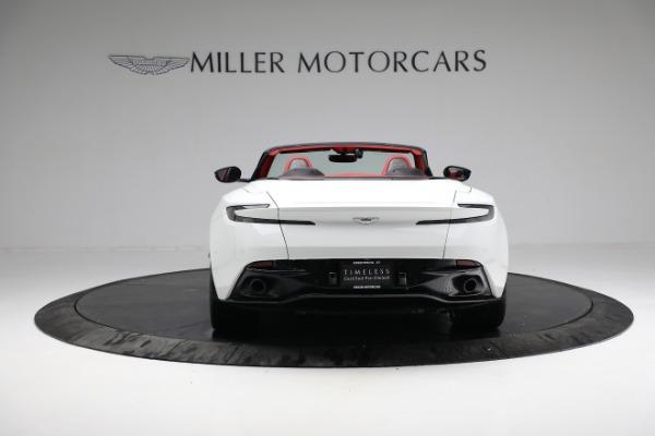 Used 2019 Aston Martin DB11 Volante for sale $209,990 at Maserati of Greenwich in Greenwich CT 06830 5
