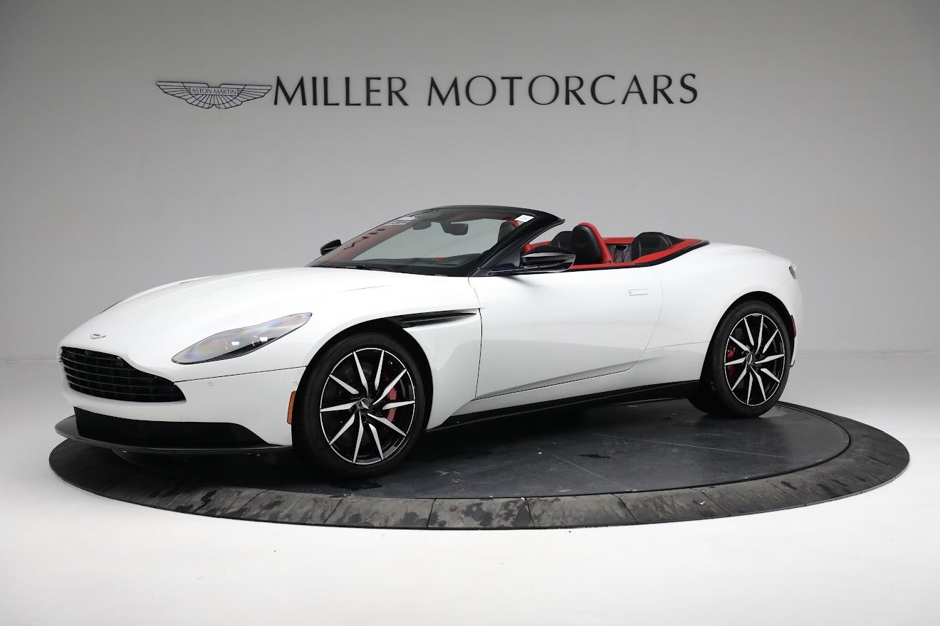 Used 2019 Aston Martin DB11 Volante for sale $209,990 at Maserati of Greenwich in Greenwich CT 06830 1