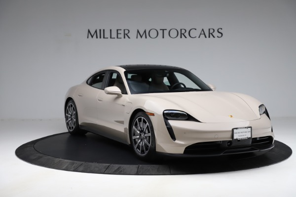 Used 2021 Porsche Taycan 4S for sale Sold at Maserati of Greenwich in Greenwich CT 06830 12