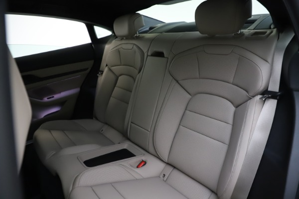Used 2021 Porsche Taycan 4S for sale Sold at Maserati of Greenwich in Greenwich CT 06830 18