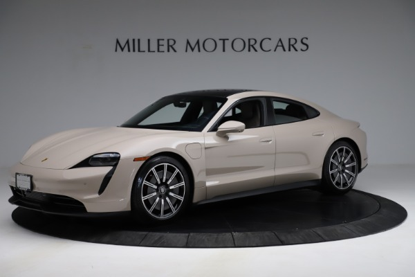 Used 2021 Porsche Taycan 4S for sale Sold at Maserati of Greenwich in Greenwich CT 06830 2