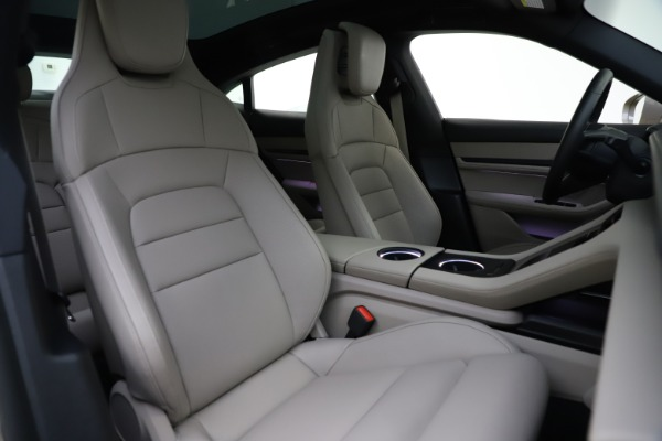 Used 2021 Porsche Taycan 4S for sale Sold at Maserati of Greenwich in Greenwich CT 06830 21