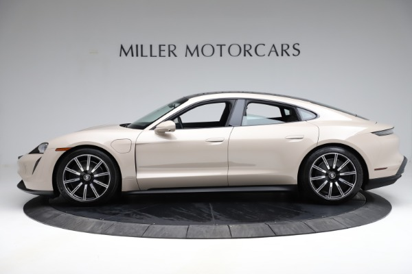 Used 2021 Porsche Taycan 4S for sale Sold at Maserati of Greenwich in Greenwich CT 06830 4