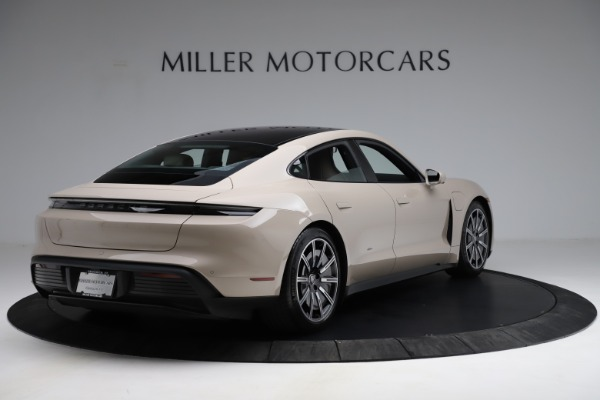 Used 2021 Porsche Taycan 4S for sale Sold at Maserati of Greenwich in Greenwich CT 06830 8